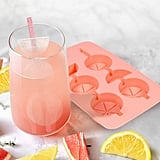 Fancy That Citrus Sippers, Silicone Ice Tray and Straws