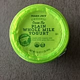 On the Fence: Organic Cream Top Plain Whole Milk Yogurt ($3)