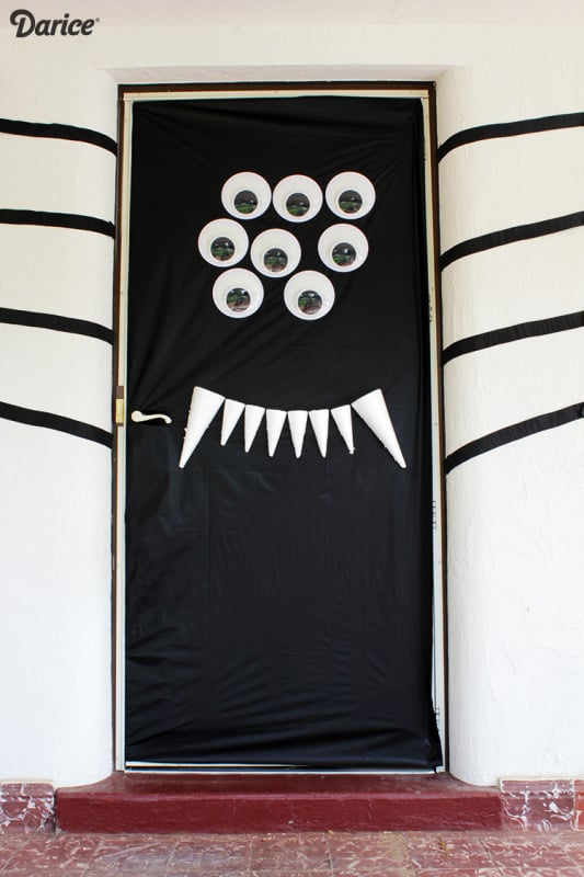 How To Decorate Front Door For Halloween Popsugar Home