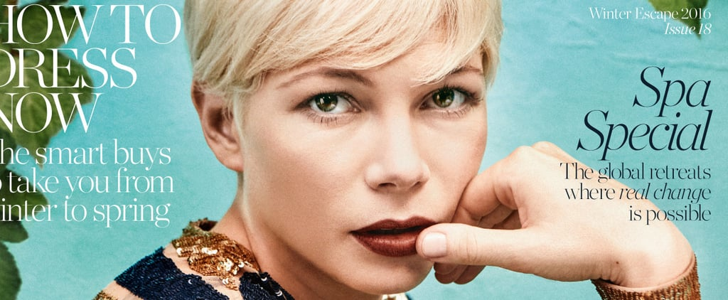 Michelle Williams Isn't Afraid to Admit That Dating as a Single Mom Sucks Sometimes