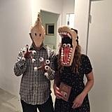 Adam and Barbara From Beetlejuice