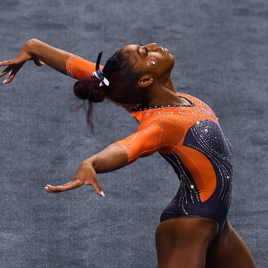 Gymnast Derrian Gobourne's Beyoncé Floor Routine | Video
