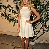 Ashley Tisdale at a Miu Miu party.