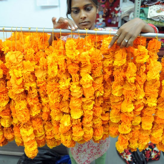 Indian Wedding Flower Garlands