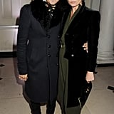 Kate Moss and Jamie Hince were at Somerset House.