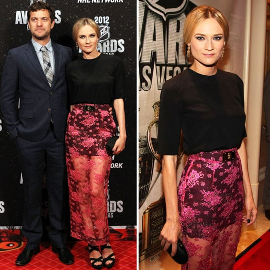 Diane Kruger in Sheer Skirt at NHL Awards