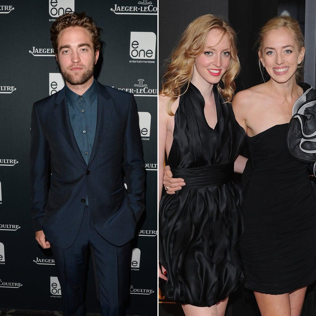 Robert, Lizzy, and Victoria Pattinson
