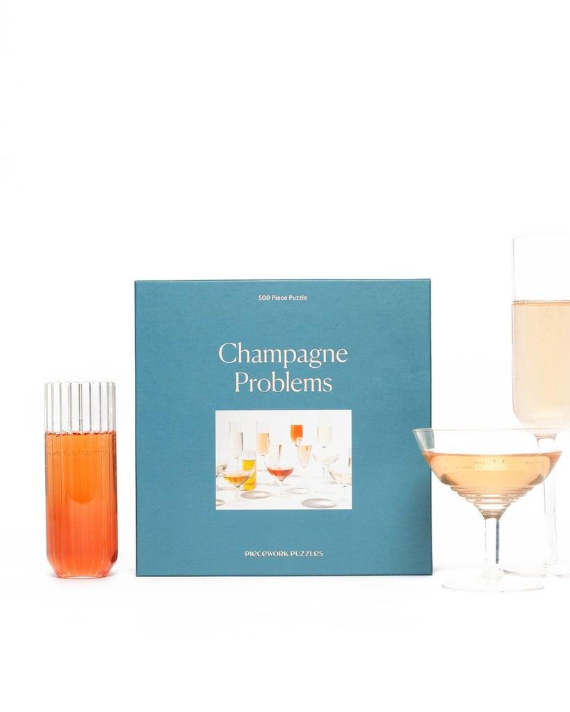 Champagne Problems 500 Piece Jigsaw Puzzle