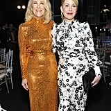 Catherine O'Hara and Christina Applegate at the 2020 SAG Awards
