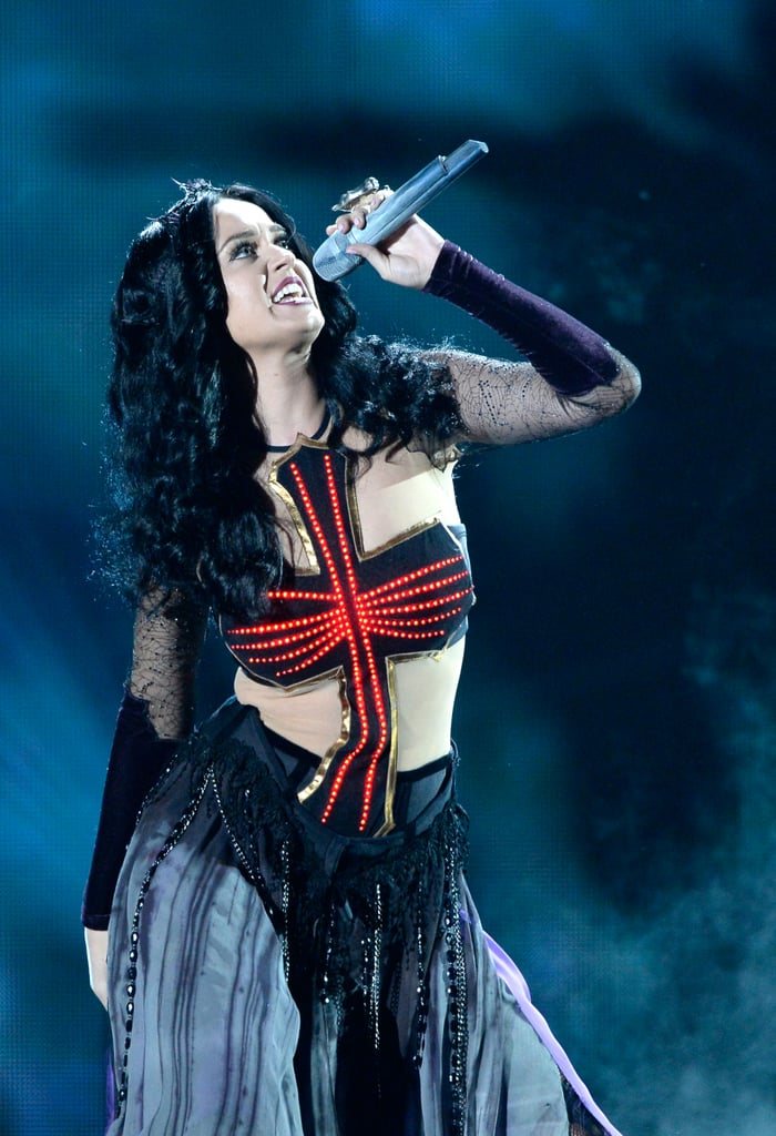 "Katy Perry rocked the house with ""Dark Horse."""