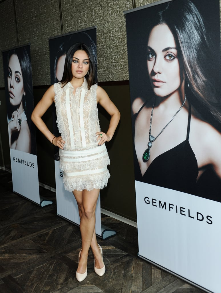 Mila Kunis Takes On a Sparkly New Role With Gemfields Jewellery