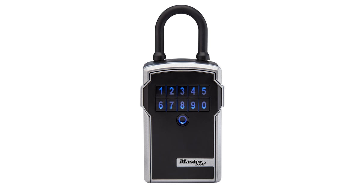 Home Depot Key Copy >> Master Lock Bluetooth Portable Lock Box With Backup Keypad Entry | Best Tech Gadgets For Your ...