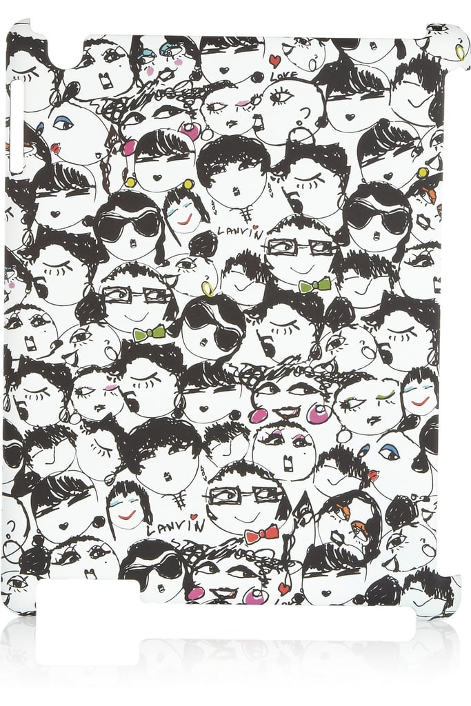 "We can't get enough of Lanvin's hardcover ""face"" case — and neither will you.
