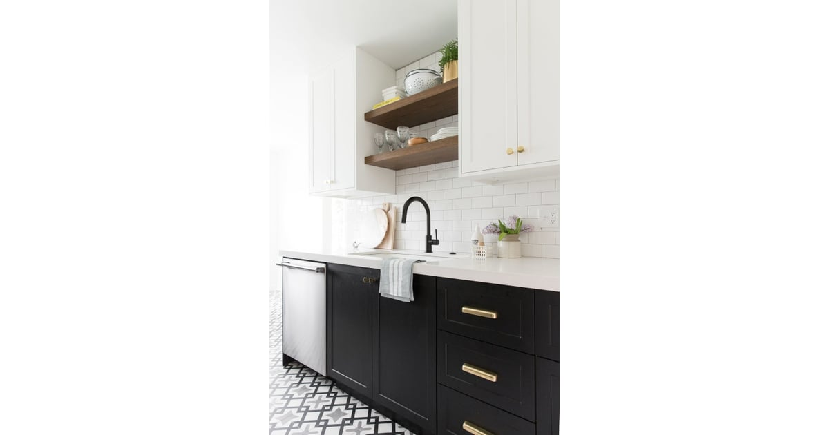 """""""Flush inset shaker cabinets are always a good idea. 