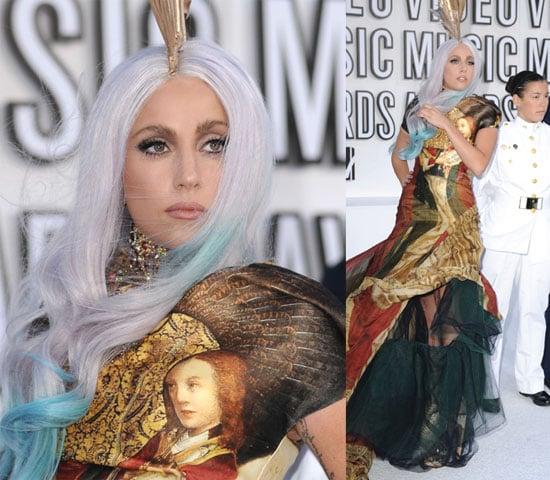 Pictures of Lady Gaga at VMAs