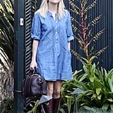 Reese Witherspoon Makes a Run For It Upon Her Return Home