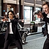 Agent H and Agent M From Men in Black: International