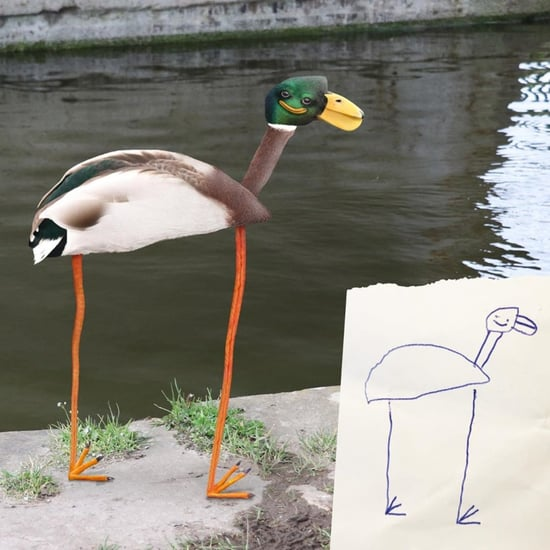 "Dad Photoshops Kids Drawings on ""ThingsIHaveDrawn"" Instagram"