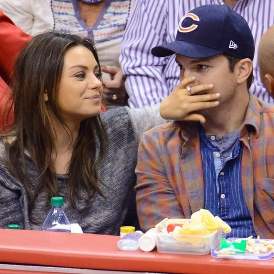 Mila Kunis and Ashton Kutcher Prepare For Their Baby