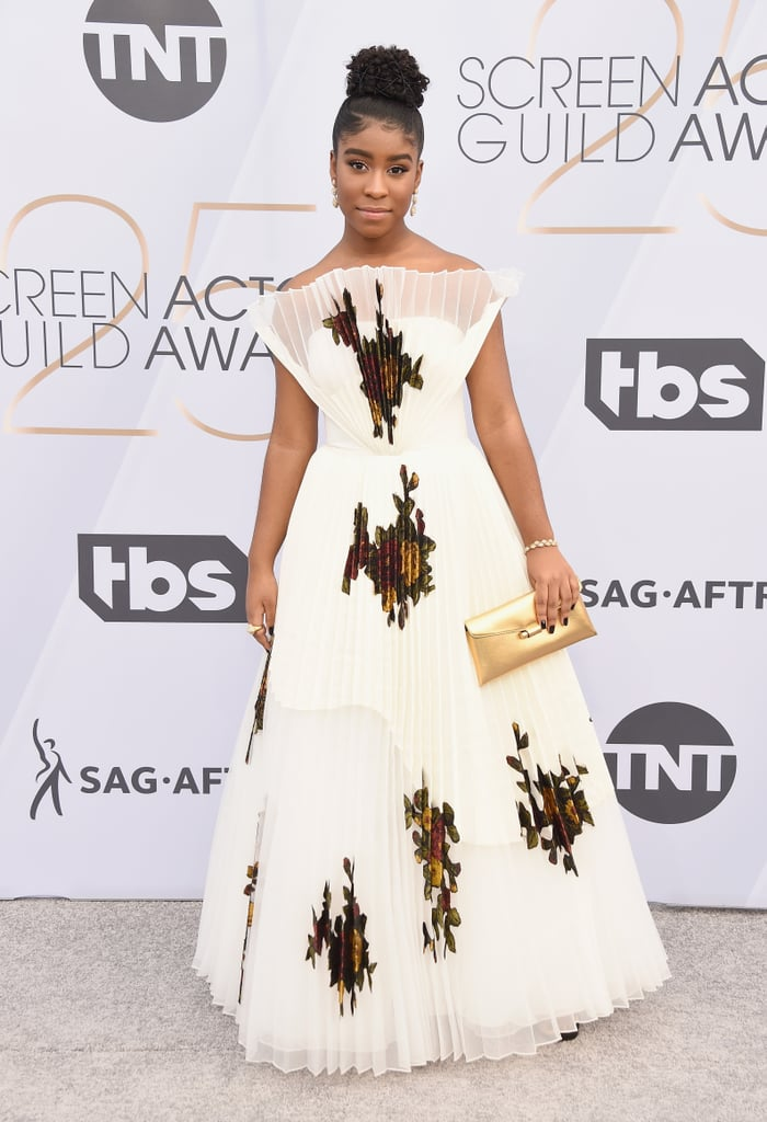 Lyric Ross at the 2019 SAG Awards
