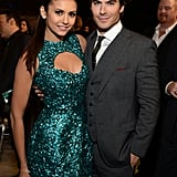 Nina Dobrev and Ian Somerhalder