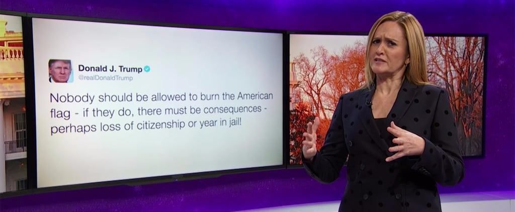 """""""You Thought There Were Rules?"""": Samantha Bee Takes Down Trump's Post-Election Fails"""