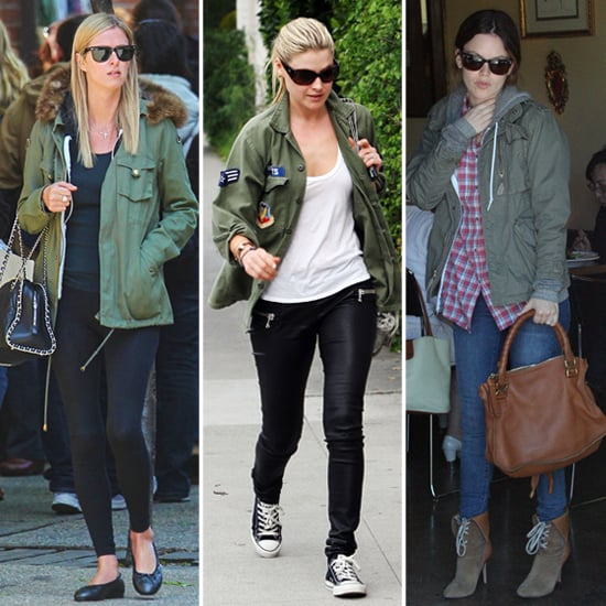 See and Steal How Celebs Add Utility Tops to Their Wardrobes