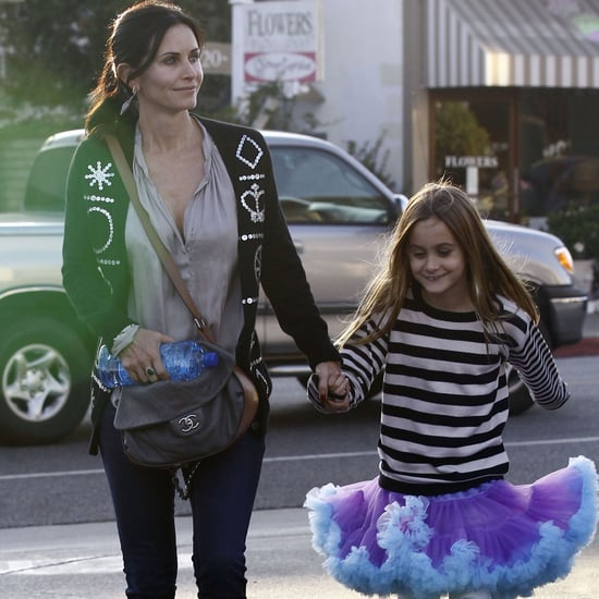 Courteney Cox and Coco on Halloween | Pictures