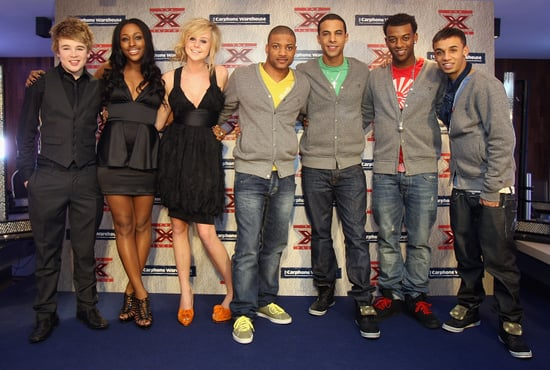 Photos Of The X Factor Finalists Diana Vickers, Eoghan Quigg, JLS and Alexandra Burke At Secret London Gig
