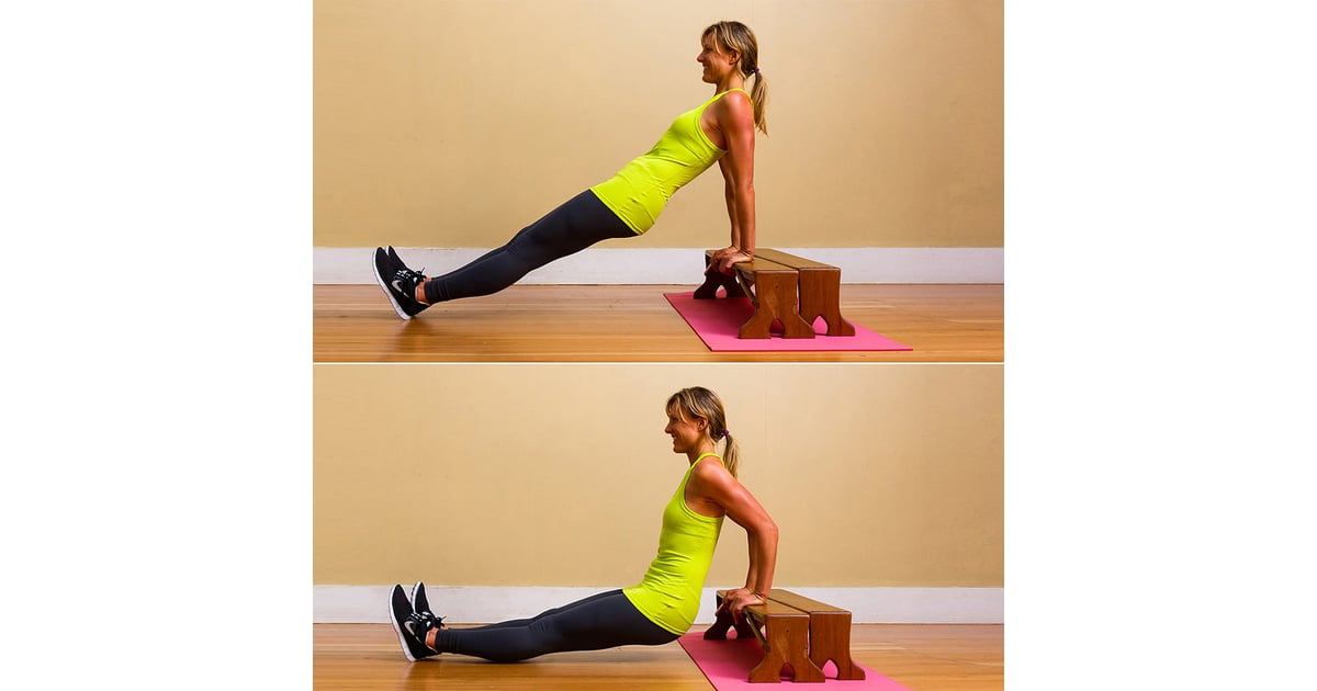 Triceps Dips On The Coffee Table Workout To Do While