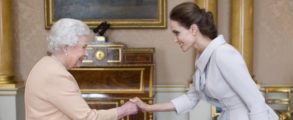 Angelina Jolie Talking About Queen Elizabeth in Documentary