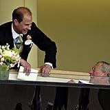 Prince Edward and Prince Charles, 2009