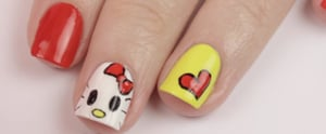 This Cute Hello Kitty Nail DIY Will Bring Out Your Inner Child