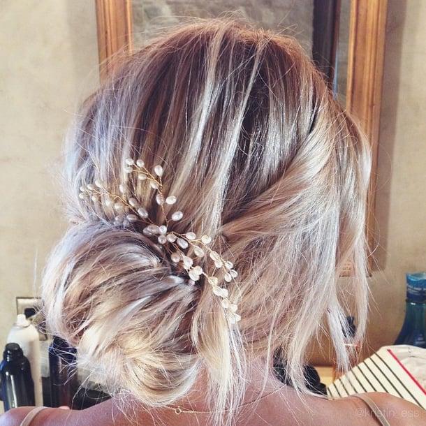 Lauren conrad wedding hair and makeup popsugar beauty junglespirit Gallery