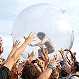 If crowd-surfing inside a giant plastic ball is your thing, you would've loved The Flaming Lips' 2006 set.