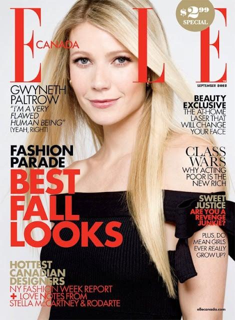 Elle Canada September 2012