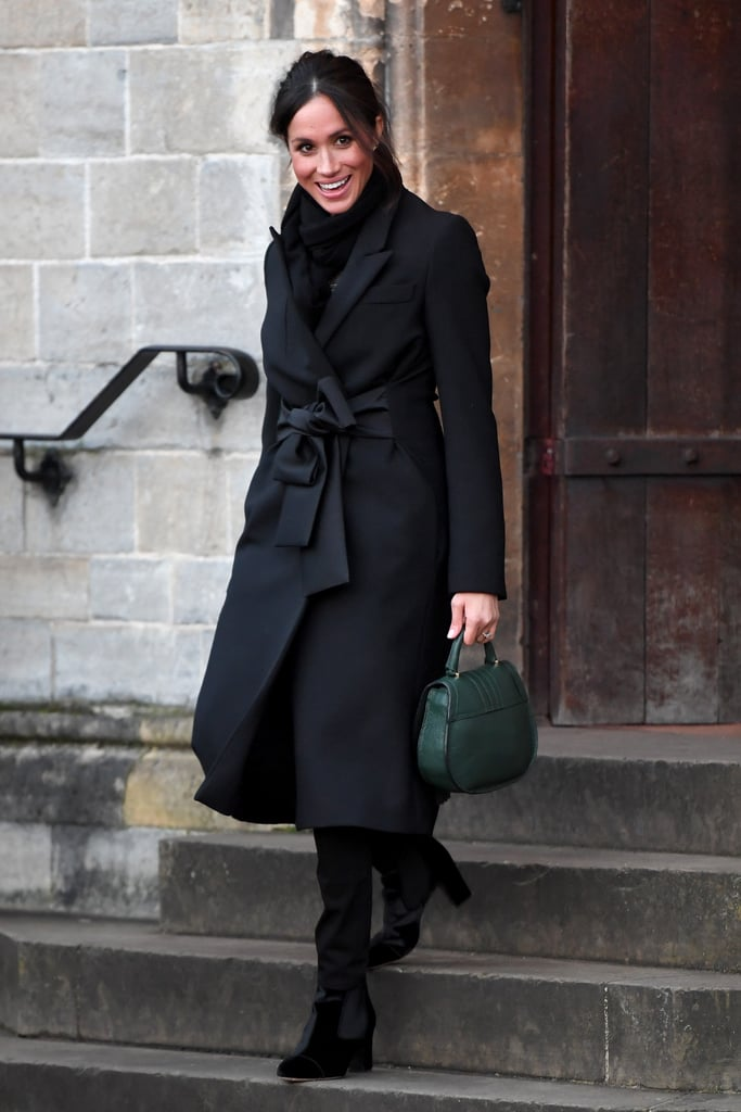 Image result for meghan markle all black royal