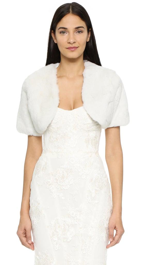 Adrienne Landau Fur Bolero ($595)