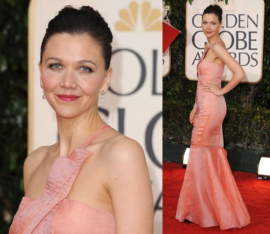 Photos of Maggie Gyllenhaal at Golden Globes
