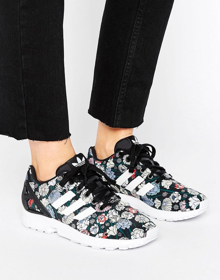 the latest 419c6 eb16c Adidas ZX Flux Performance Floral-Print Sneakers