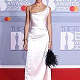 Adwoa Aboah at the 2020 BRIT Awards Red Carpet