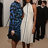 Liv Tyler and Liya Kibede were at the CFDA/Vogue Fashion Fund Awards in NYC.