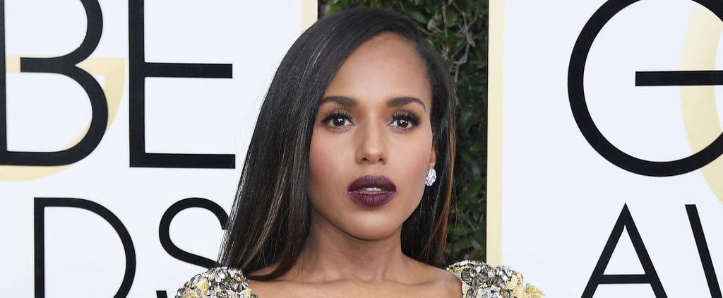 Nope, Kerry Washington Didn't Get Highlights — It's Just Some Cool Clip-Ins