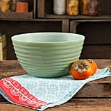"The Pioneer Woman Timeless Beauty 10"" Ribbed Glass Bowl ($19)"