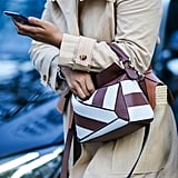 How to Wear the 2-Toned Trend: A Handbag
