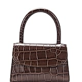 By Far Mini Nutella Croco Embossed Leather Bag ($508).