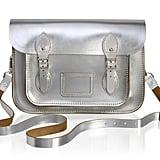 The Cambridge Satchel Company 11-Inch Satchel in Silver ($185)