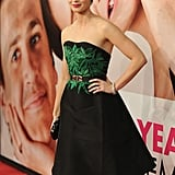 Emily Blunt gave a smile on the red carpet of The Five-Year Engagement premiere during the 2012 Tribeca Film Festival.