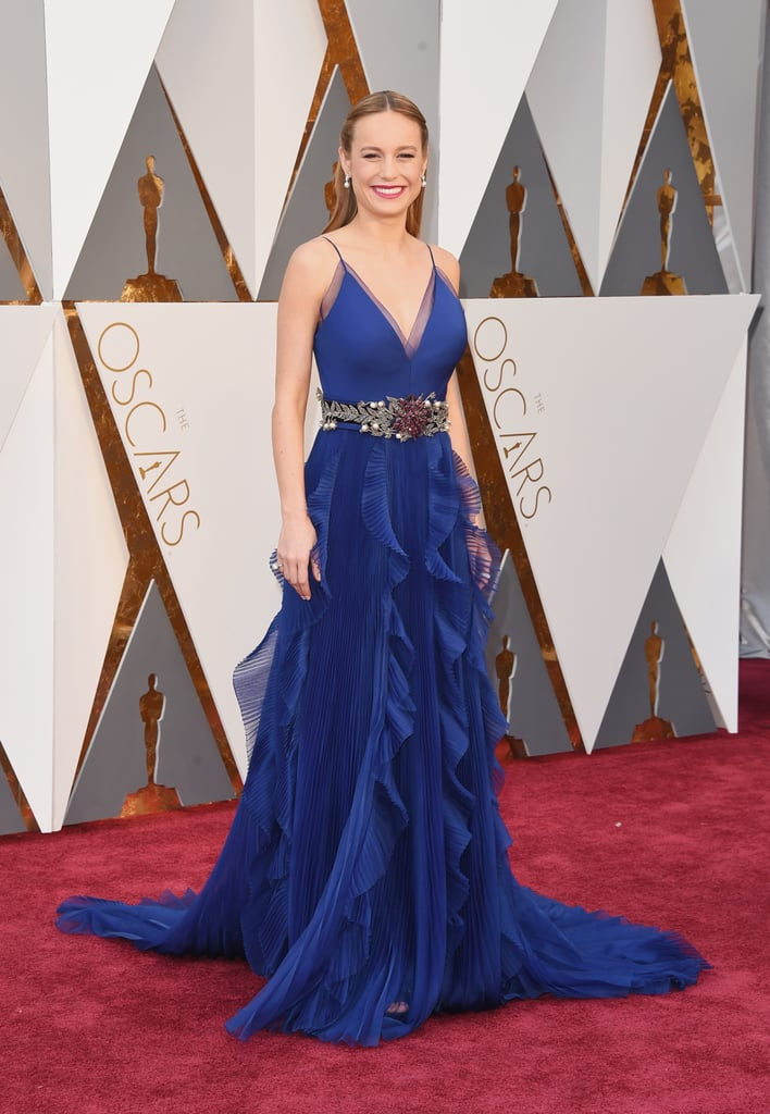 Brie Larson's Dress at the Oscars 2016