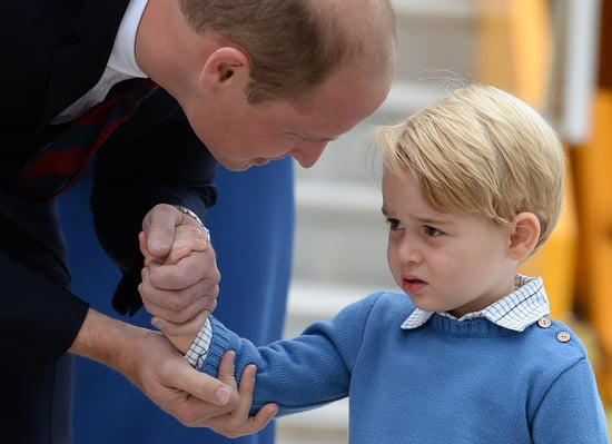 Prince George Refuses to High Five Canadian Prime Minister Justin Trudeau